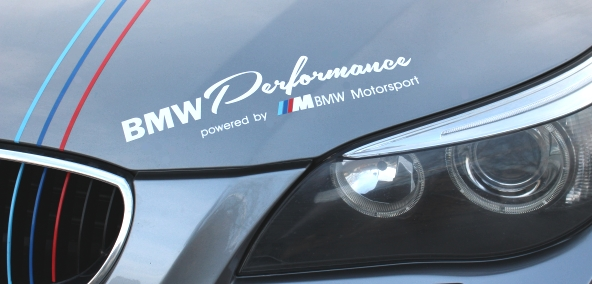 bmw performance powered by m aufkleber m3 m5 e46 e60 61. Black Bedroom Furniture Sets. Home Design Ideas